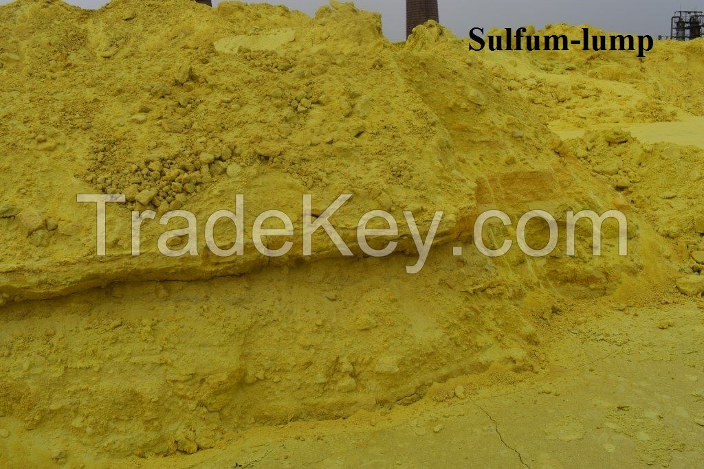 sulfur (S sulfur) lump (granulated and technical)