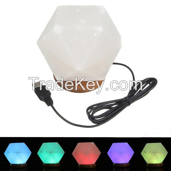 USB Salt Crystal Lamp.