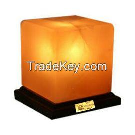 Salt Cube Lamp.