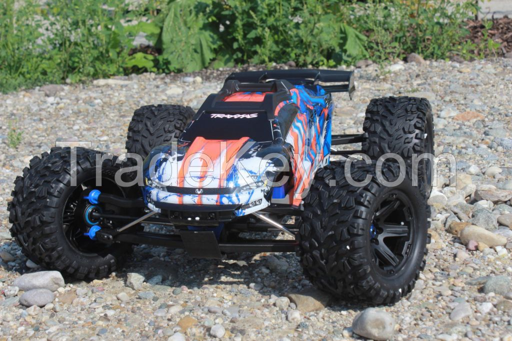 Traxxas 86086-4 E-Revo Brushless 4WD 2.4ghz Tqi ( Tsm ) V2.0 Version 2018 Orange