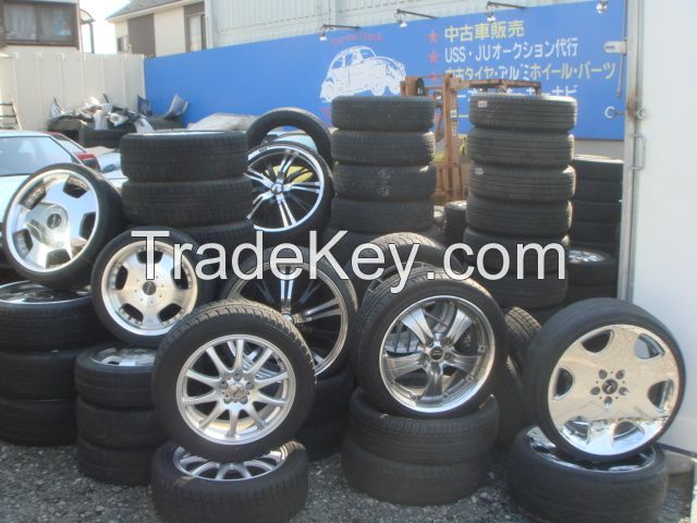 Used Japan tyres and Allow Wheels available