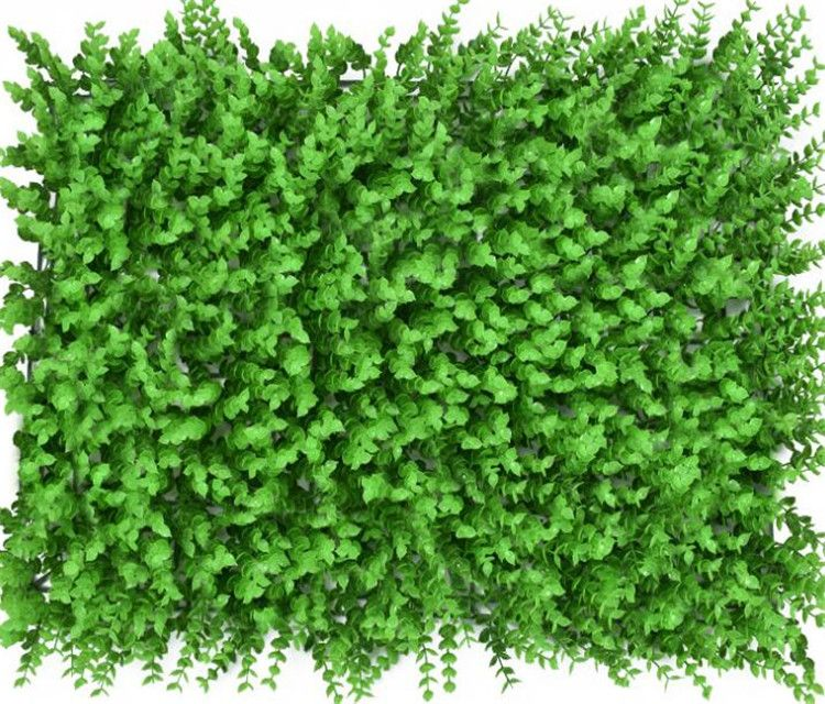Artificial plant wall green hedge PE