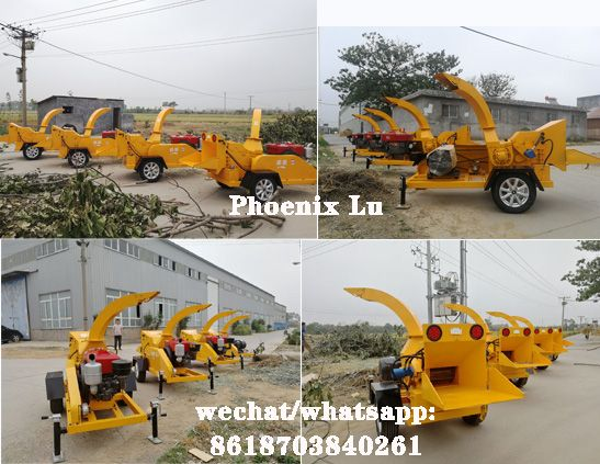 Factory Hot sale  Branch shredder / wood chipper shredder