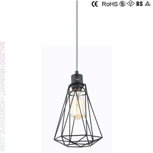 WIRE METAL PENDANT LAMP