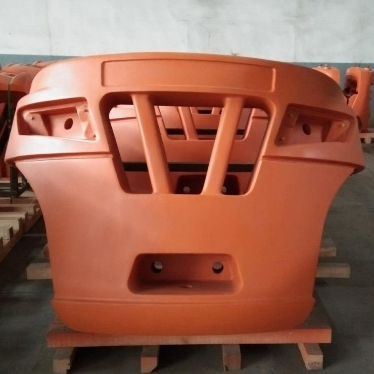 Iron Counterweight for forklift, excavator, wheel loader