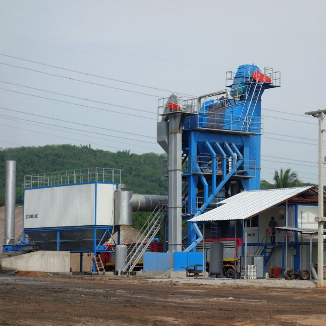 Stationary Asphalt Batch Mixing Plant