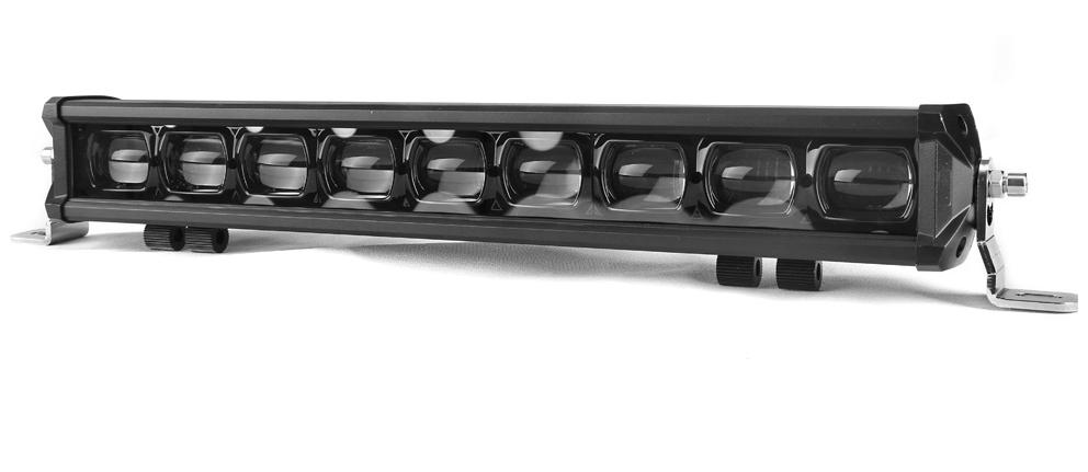 9D single row led light bar