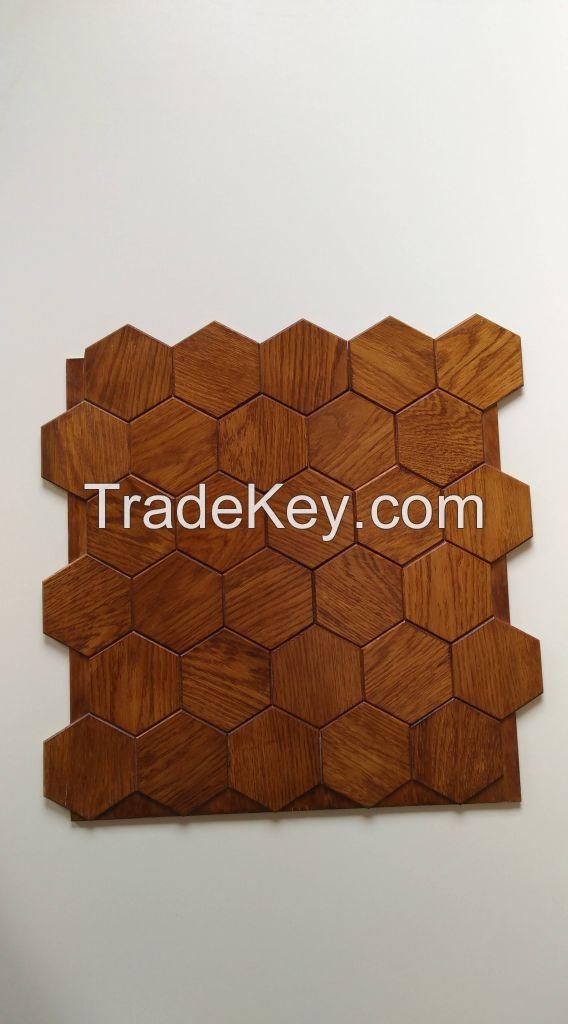 Wall panels wood folk