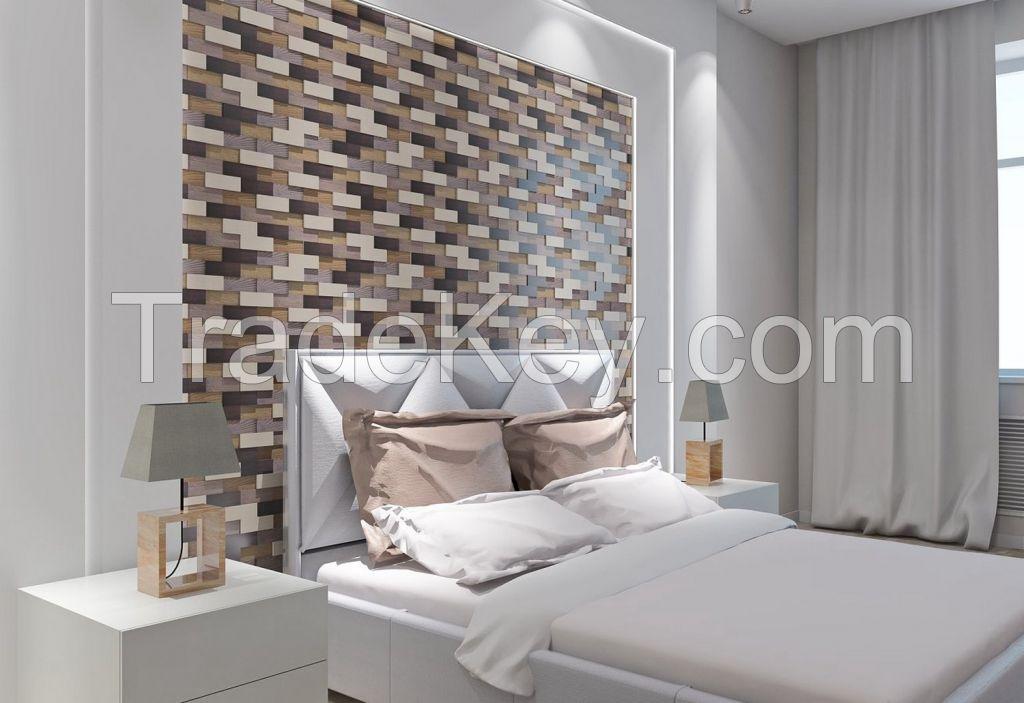 Wall panel wood Ethno Jazz