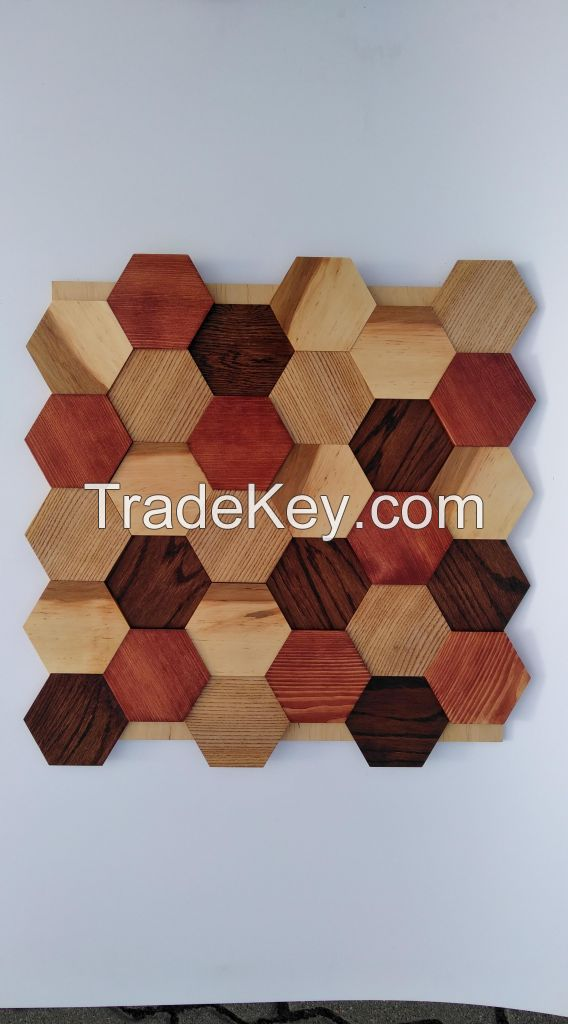 Wood panel wood Ethno folk