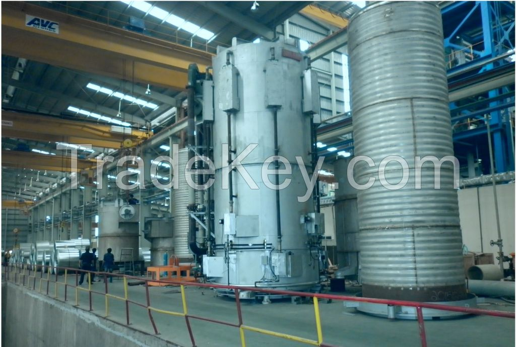 RAD-CON Batch Annealing Furnace, 100% H2 Technology, 4 Bases