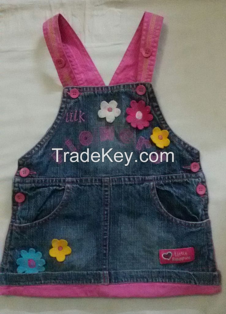 smocked dresses, appliqued dresses, tops, shirts, shorts, rompers,lowers,blouses, sleep wear