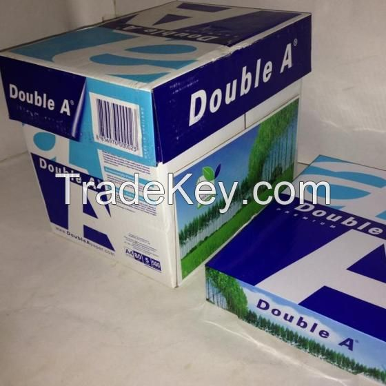 A4 Copy Paper Double A Paper 80GSM 75GSM 70GSM