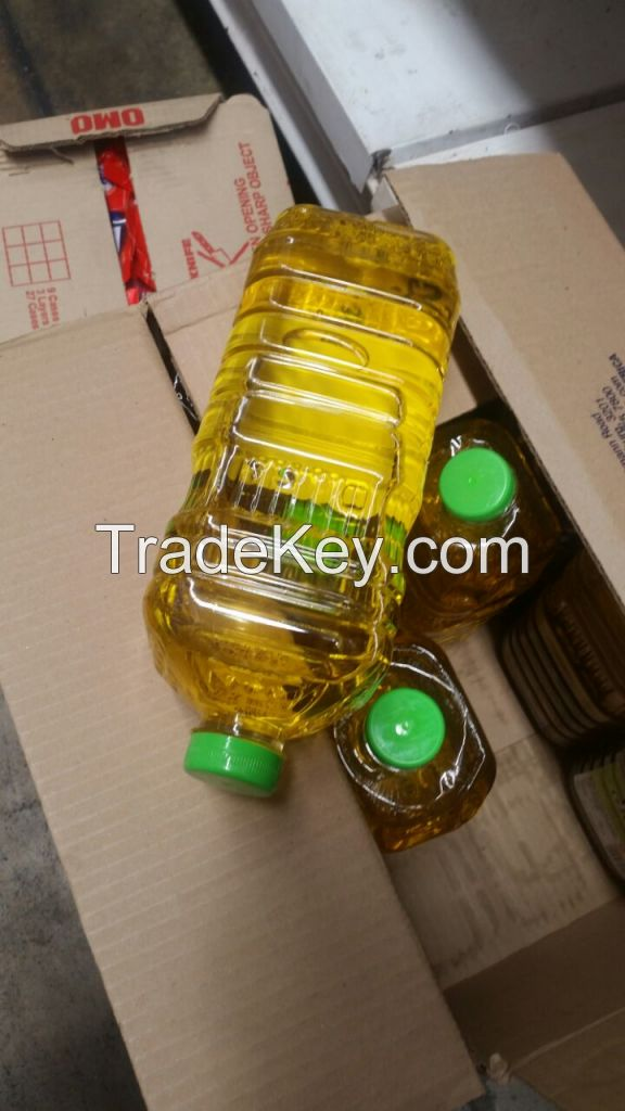 SUNFLOWER OIL AND SOYBEAN OIL