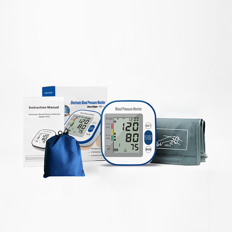 2019 New Design Blood Pressure Monitor Accracy Tonometer Arm Style Full-Automatic Household CE/ISO13485