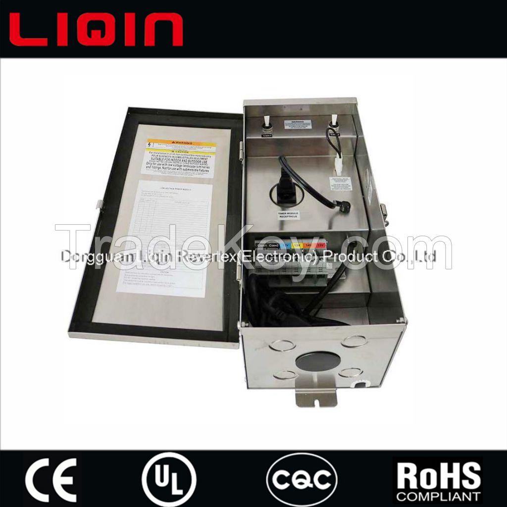 300 watt 12 volt low voltage landscape lighting transformer