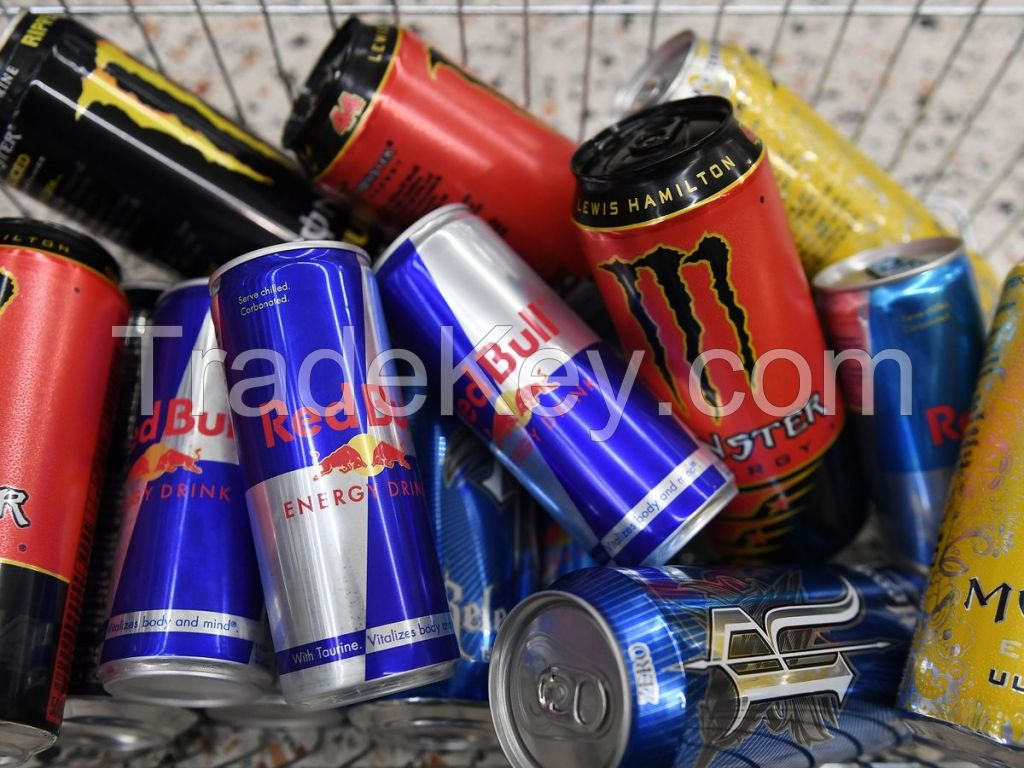 Retail Energy Drinks For Sale