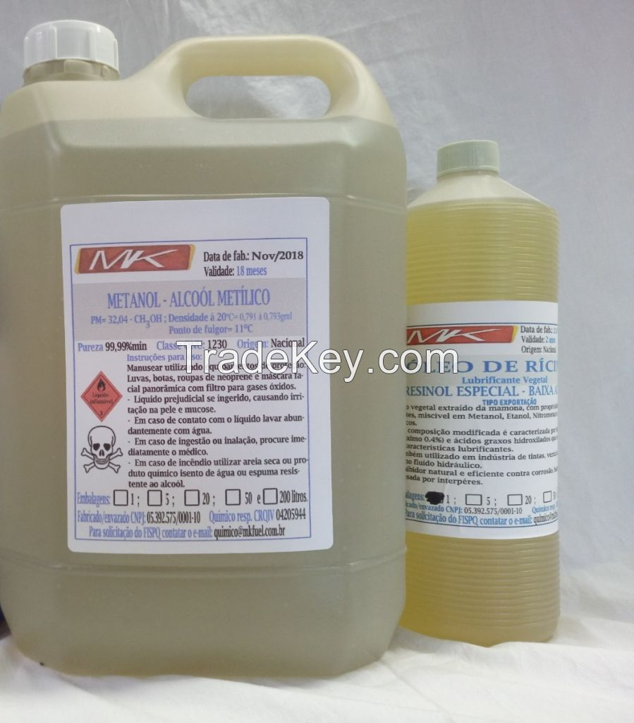 High purity Methanol with CAS 67-56-1 for Industrial grade