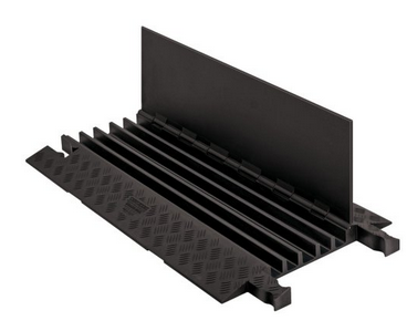 High quality PU 5 Channels cable ramp