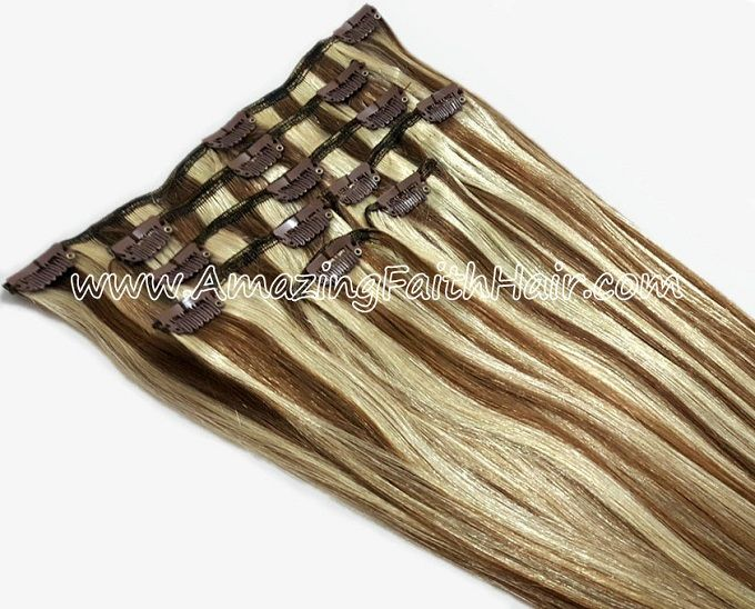 Clip-In Remy Human Hair Extensions