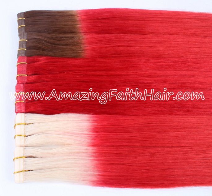 Tape-In Skin Weft Remy Hair