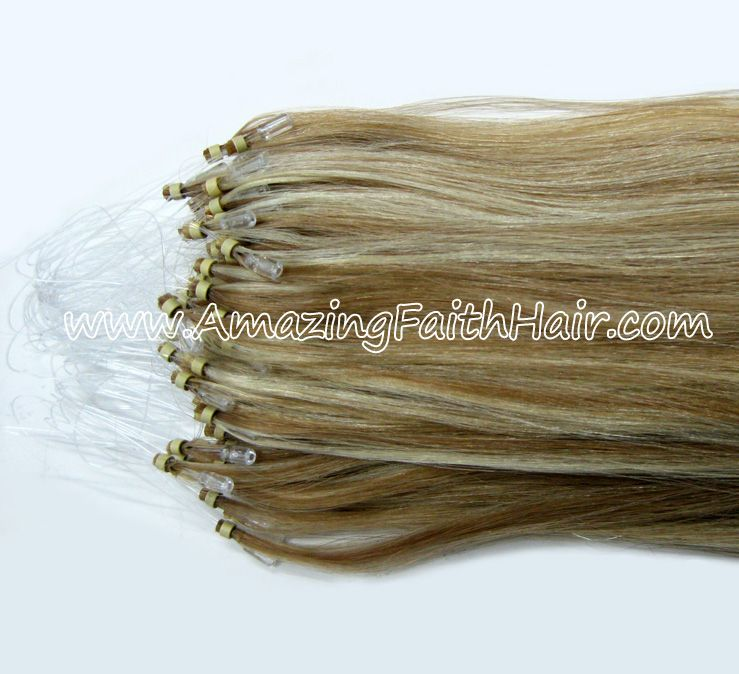 Micro links I-Tip Remy Human Hair Extensions