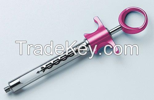 Aspirating syringe