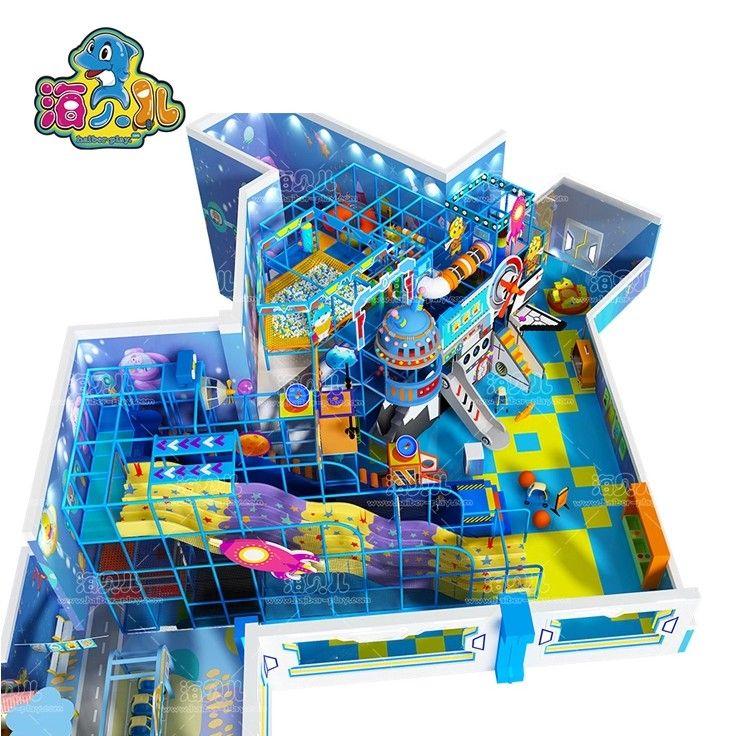 Mechanical theme indoor playground