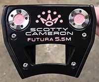 Scotty Cameron 2017 Futura 5.5M Putter - NICE - RH - Xtreme Dark Finish - LSA
