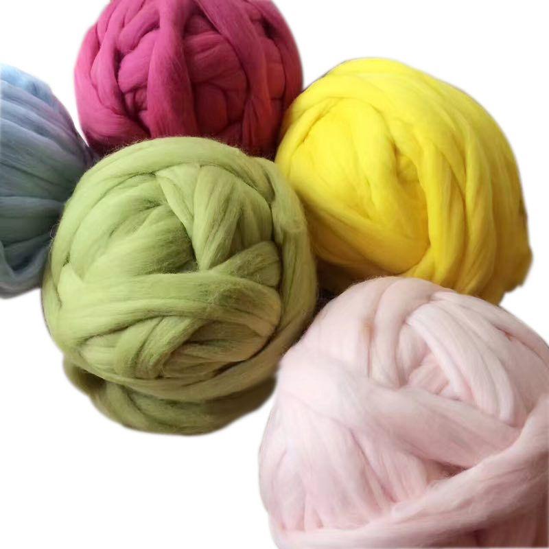 Merino Wool Yarn 21 Micron Super Chunky Yarn/giant Yarn Merino