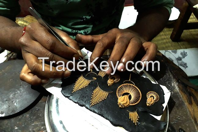 Making of Handmade Gold Necklace