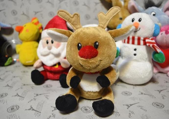 2019 plush Christmas toys stuffed snowman plush deer gifts