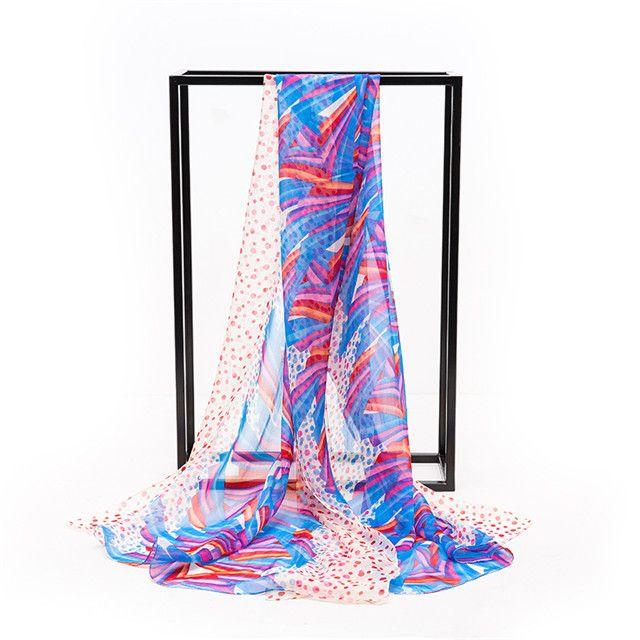 Luxurious 100% Charmeuse Silk Long Scarf