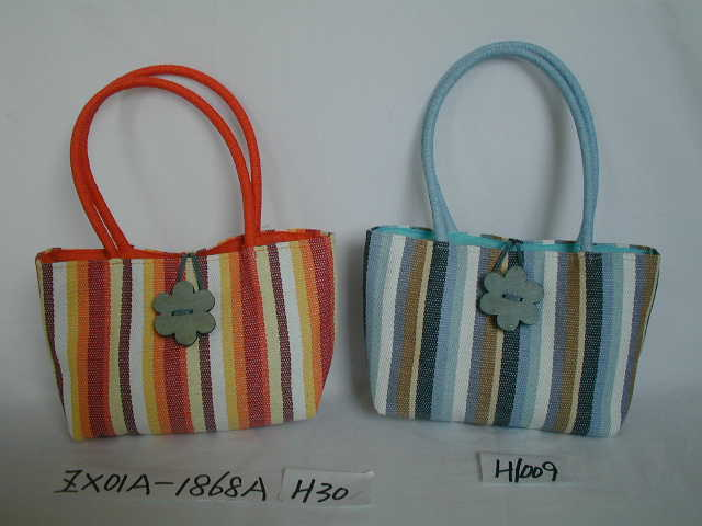 handwoven straw bags