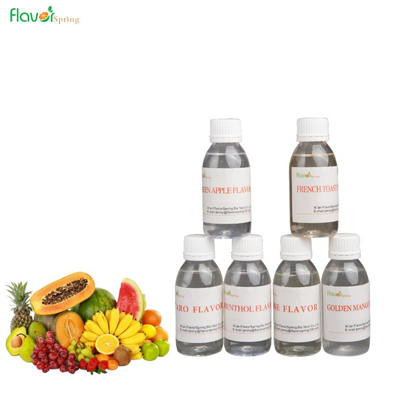high quality and concentrate fruit series vape liquid flavor
