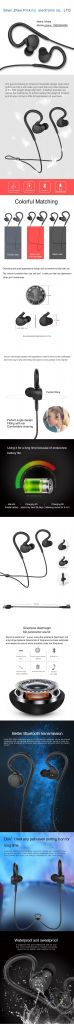 2019 New Style Bluetooth earphone wireless headset mini store headphone with cell phone