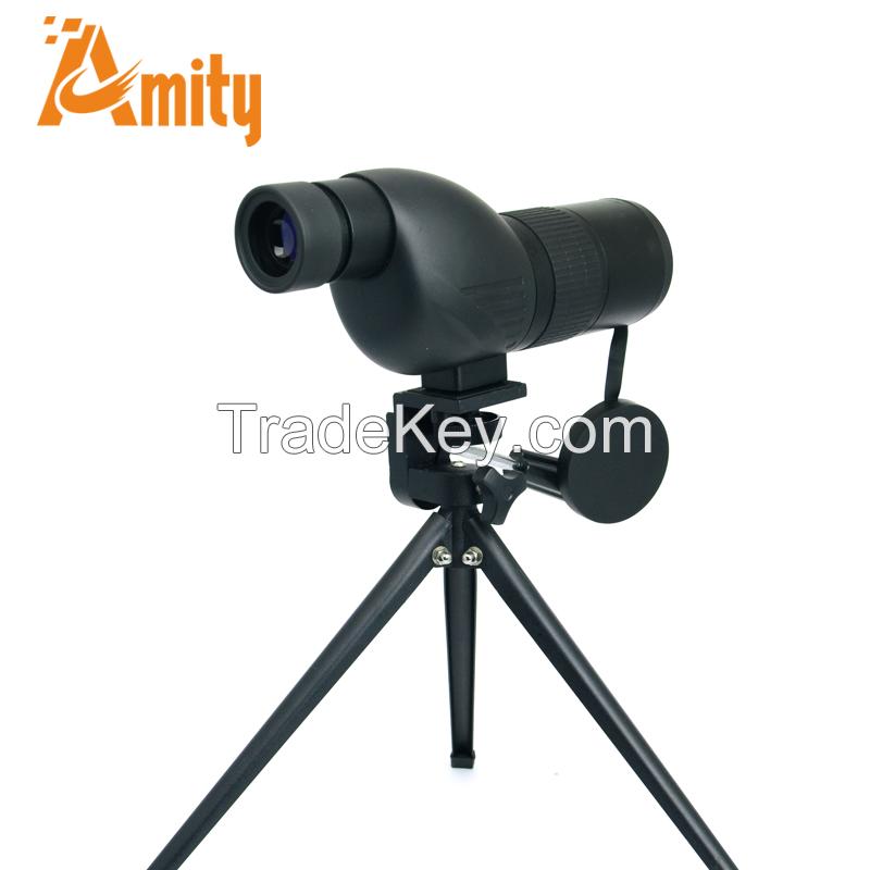 waterproof telescope monocular optic spotting scope 20-60X80 with tripod