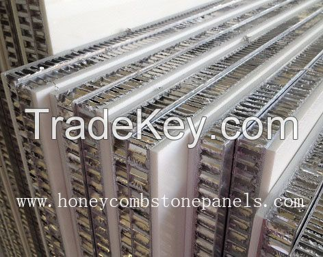 Honeycomb Stone Panel for curtain wall cladding, Stone honeycomb panel for facade wall, lightweight stone panel