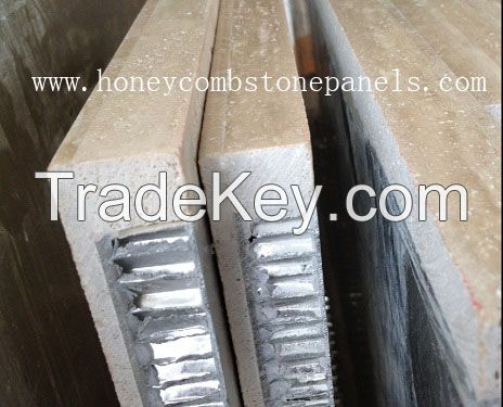 stone honeycomb panel for facade wall cladding, honeycomb stone panels, lightweight stone panel