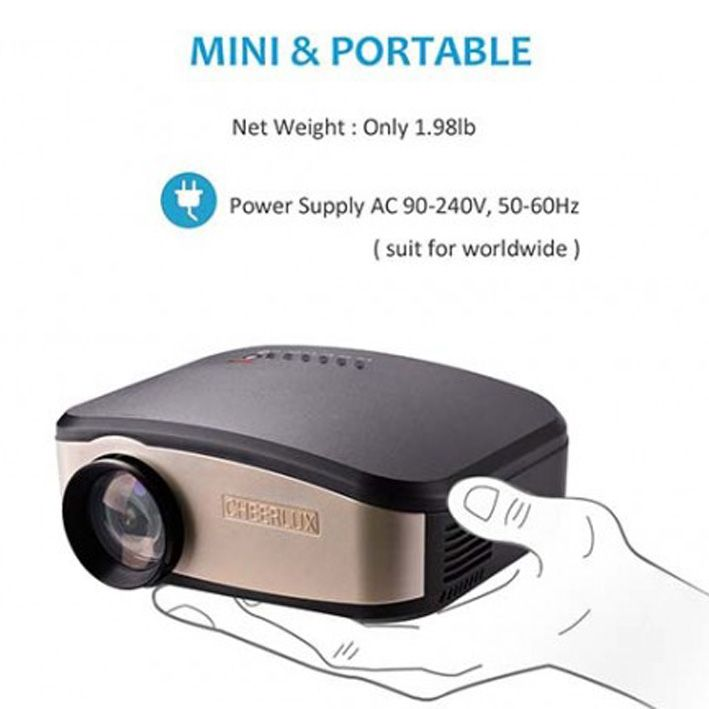 Hot Selling Wifi LED LCD Projector Pocket Pico Digital Multimedia Android Proyector