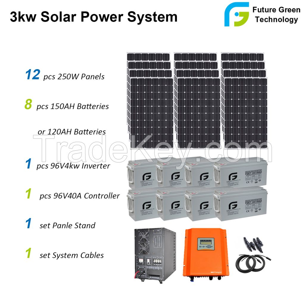 5kw 8kw 10kw 20kw Hybrid off Grid PV Energy Solar Power Energy System
