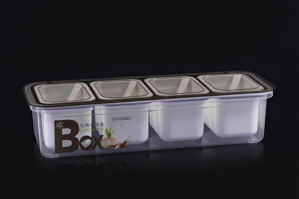 PP plastic food safe seasoning box R-3033