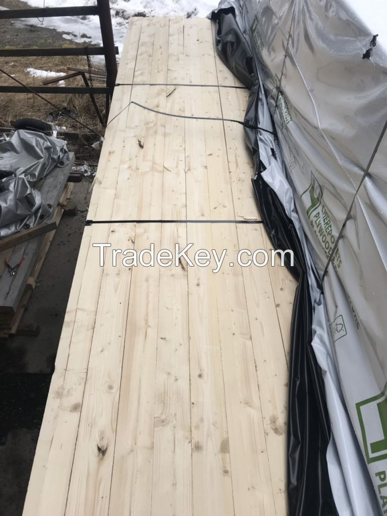 Spruce, pine boards, plywood, chipboard