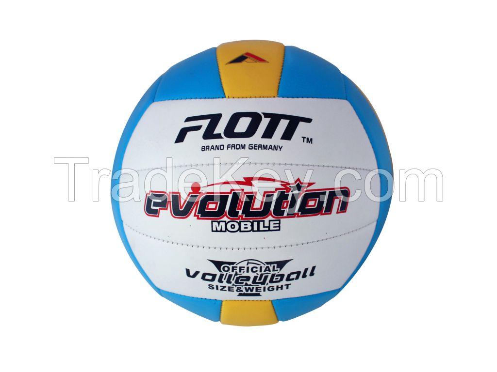 FLOTT Wholesale sport goods 5# machine sewning PVC Volleyball ball