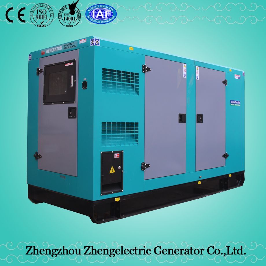 60kVA-100kVA 50Hz/60Hz Shangchai Commercial Industrial Soundproof Electrical Mobile Home Standby Power Diesel Generator Set Price