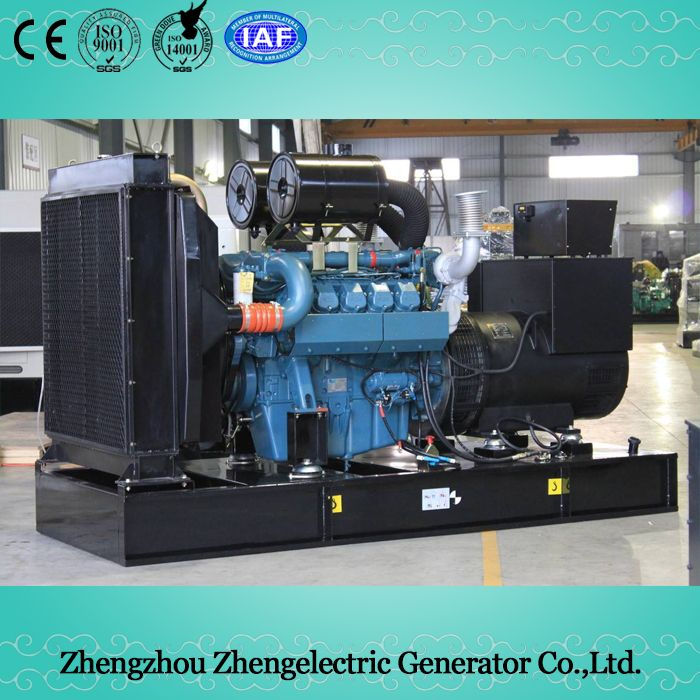 63kVA-810kVA 50Hz/60Hz Doosan Commercial Industrial Soundproof Electrical Mobile Home Standby Power Diesel Generator Set Price