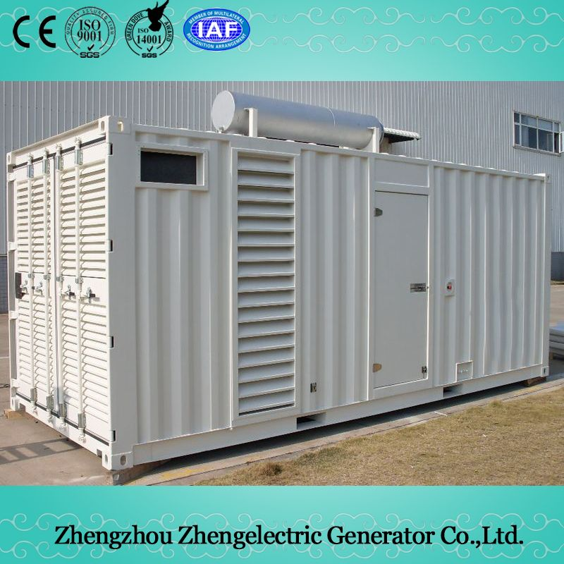 100kVA-2500kVA Container Commercial Industrial Soundproof Electrical Mobile Home Standby Power Diesel Generator Set Price
