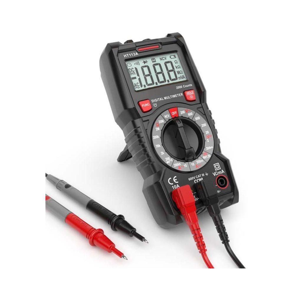 Automatic range multimeter high precision four-digit half-digit multimeter measuring capacitance