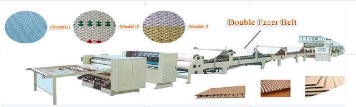 Woven cardboard drying cloth