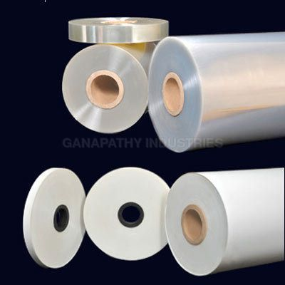 Clear-polyester film
